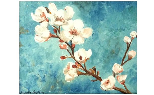Almond Blossom I