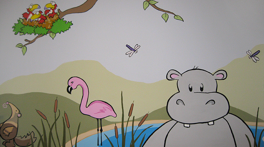 Walls and Murals for Kids